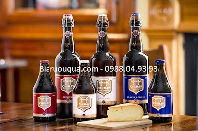 Thưởng thức bia Chimay cùng những món ăn Châu Âu truyền thống