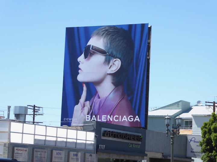 Balenciaga Eyewear 2017 billboard
