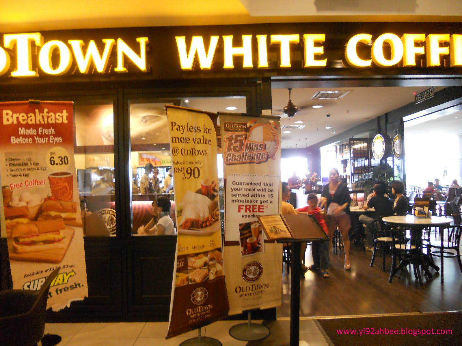 Old town white coffee mission