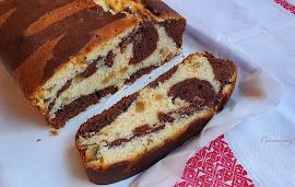 Vláčny mramorový chlebíček