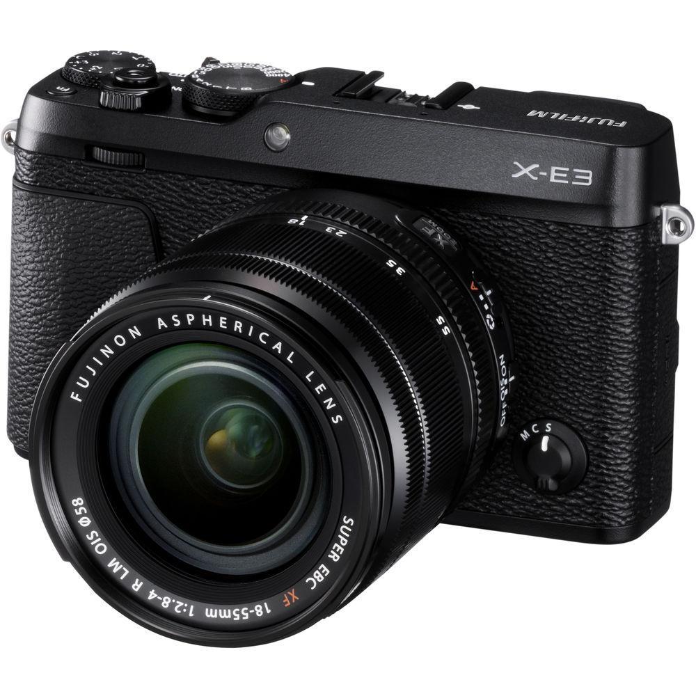 FUJIFILM Mirrorless Digital Camera X-E3 Kit with XF 18-55mm f/2.8-4 R LM OIS Lens