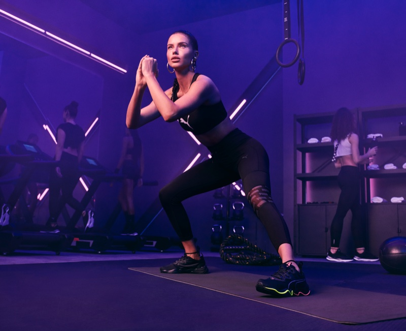 Adriana Lima models the PUMA Zone XT collection