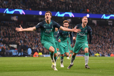 Highlight Manchester City 4-3 Tottenham Hotspur, 17 April 2019