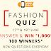 Amazon Fashion Quiz - Answer and Win Rs.1000 Amazon Pay Balance