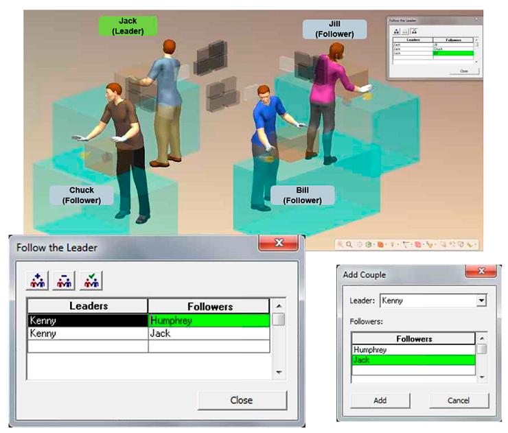 Human Simulation Motion Capture (повторение за ведущем)