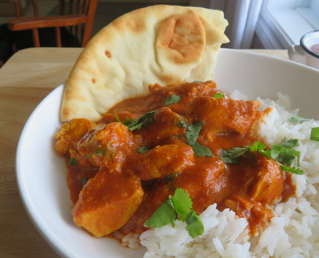 Coconut Chicken Tikka Masala for Two