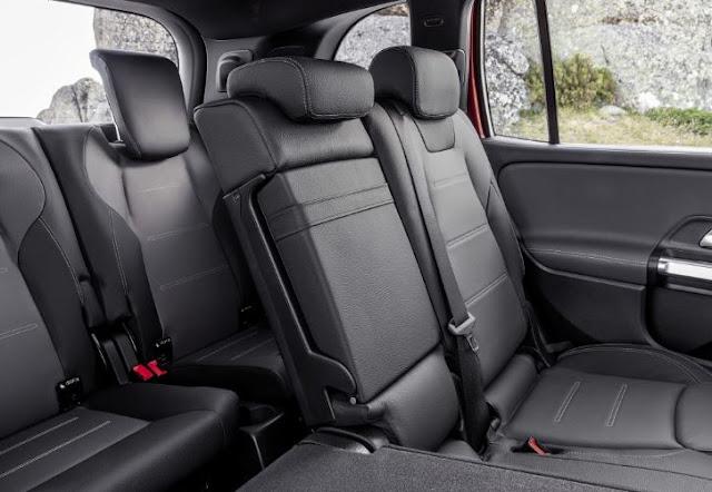 Mercedes AMG GLB 35 2021 Interior Seating