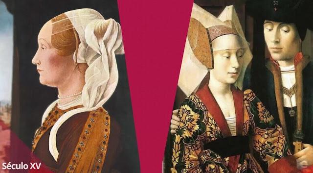moda século XV