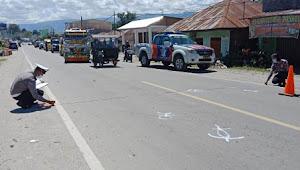 Tabrak Mobil Sedang Berbelok, Akhirnya Sihaloho Wafat di RSUD Samosir