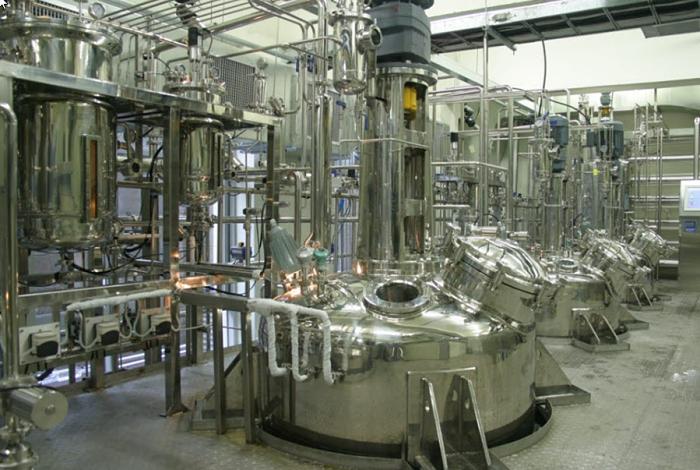 Reactor químico del tipo batch