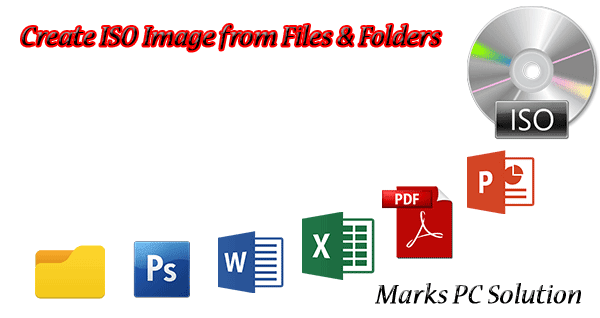 Create ISO image from Files