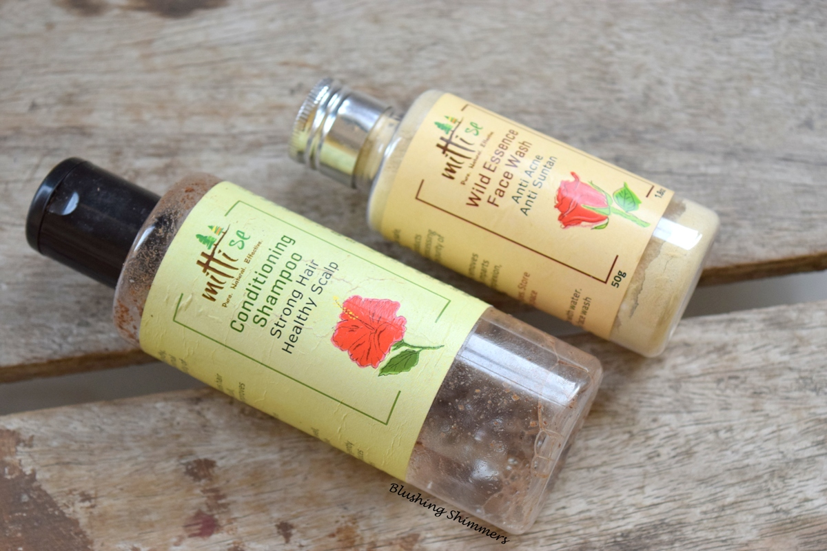 Mitti Se Conditioning Shampoo and Wild Essence Face Wash