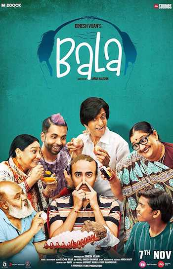 Bala 2019 Watch Online Full Movie Download Bolly4ufree.in