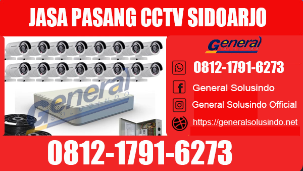 Jasa Pasang CCTV Krian Sidoarjo