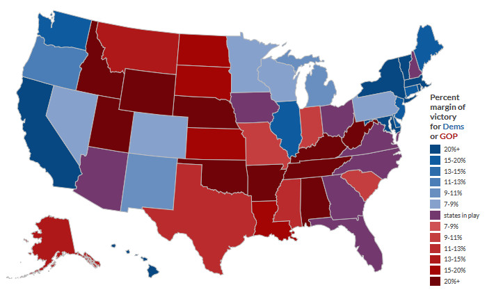 2016 Electoral maps: How hispanic & asian voters could change the electoral college
