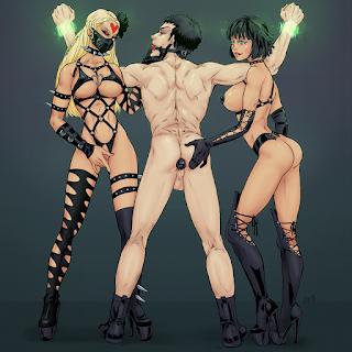 opm adult fanart bdsm porn art wanpanman