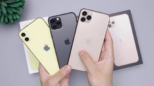 ايفون 11 iPhone يتصدر قائمة الهواتف الأكثر مبيعا في 2020