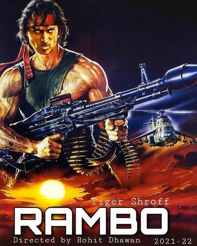Tiger Shorff Upcoming Movie Rambo : Hindi Upcoming Movie : Tiger Shorff Latest Movie Rambo