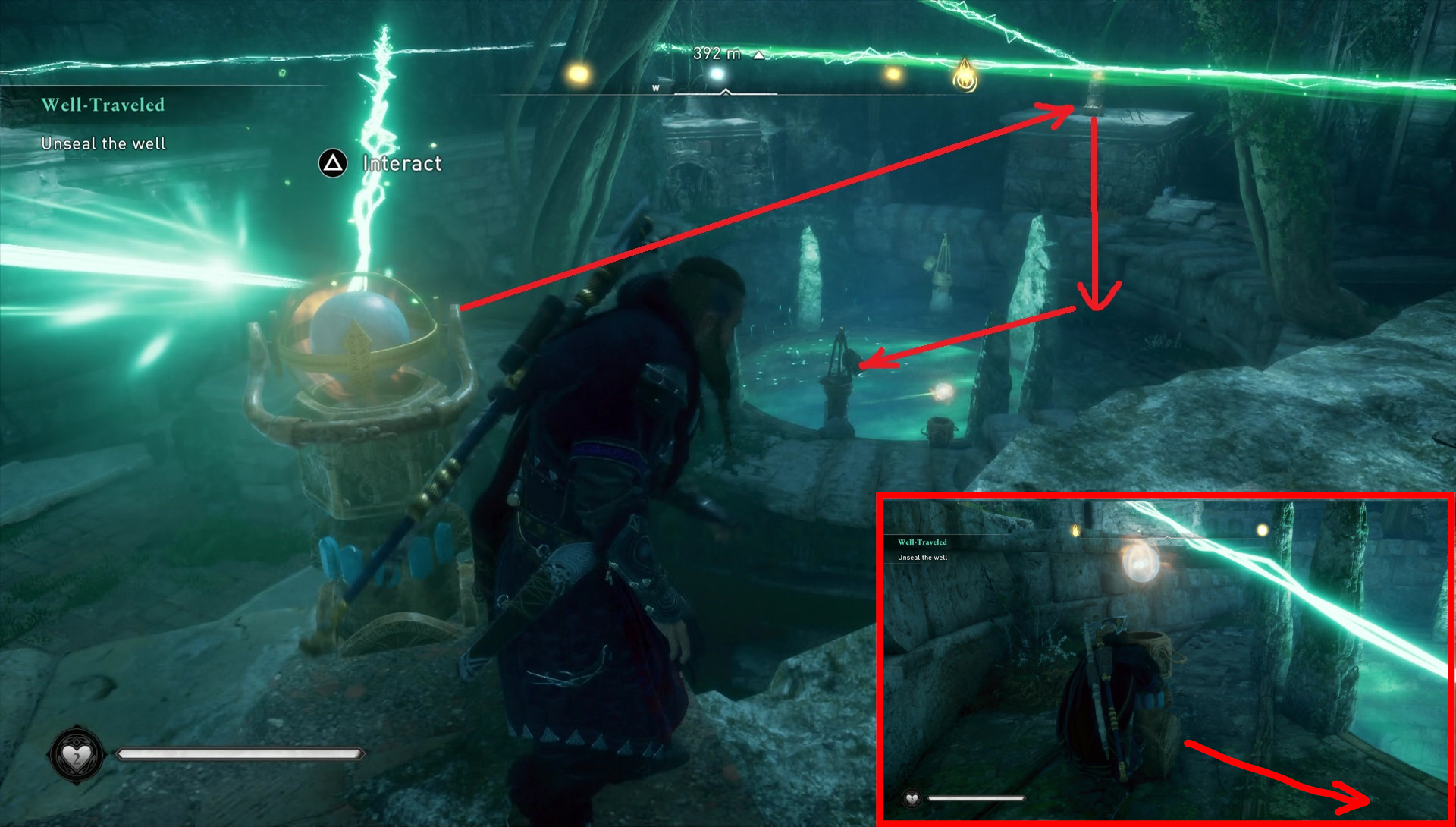 Assassin's Creed: Valhalla. Solving the puzzle with rays and mirrors screenshot 4