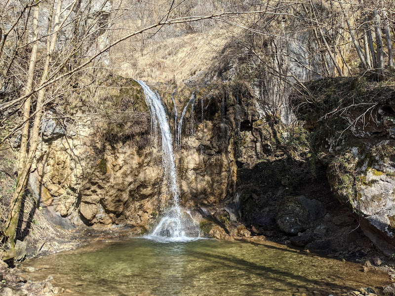Waterfall on the River Nesa