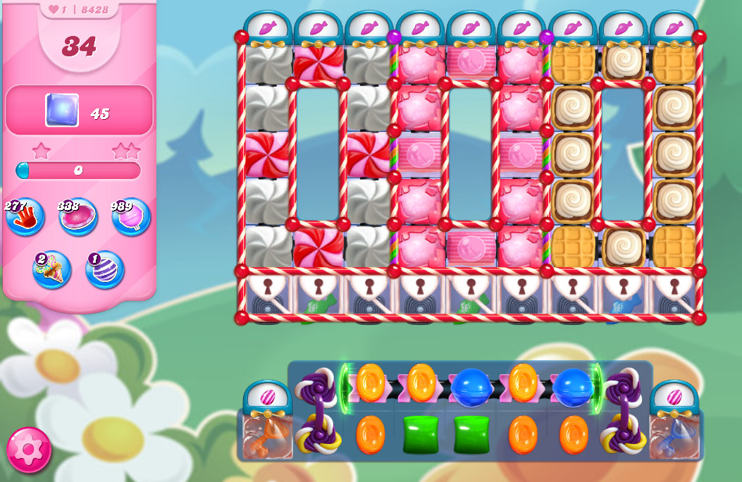 Candy Crush Saga level 8428