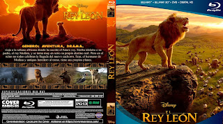 CARATULA - EL REY LEON - THE LION KING