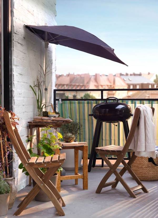 7 Ideas For Decorating Balconies or Terraces 12