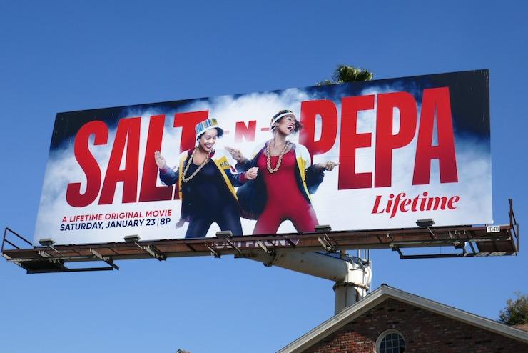 Salt N Pepa Lifetime movie billboard