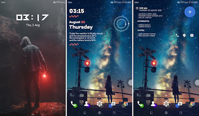 Kumpulan tema keren untuk android Huawei