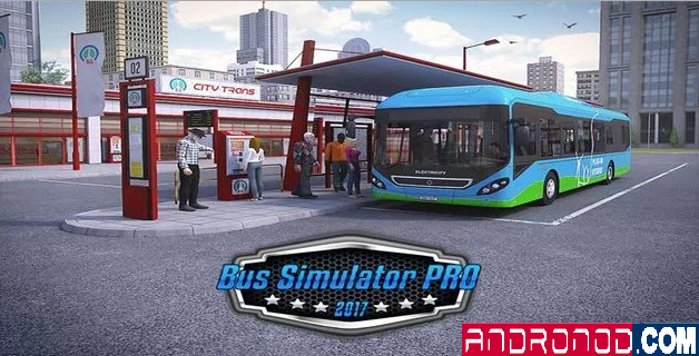 Bus Simulator PRO 2017 v1.2 Full Apk+OBB Data