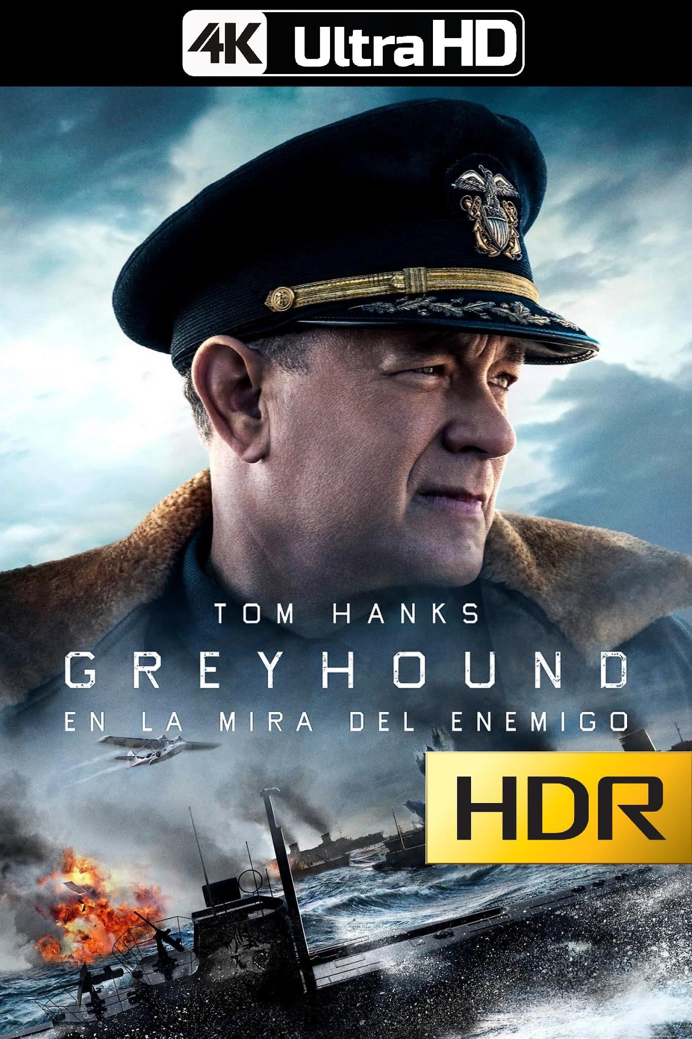 Greyhound: En la Mira del Enemigo (2020) 4K UHD HDR Web-DL Latino