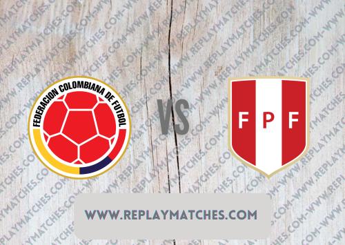 Colombia vs Peru -Highlights 10 July 2021