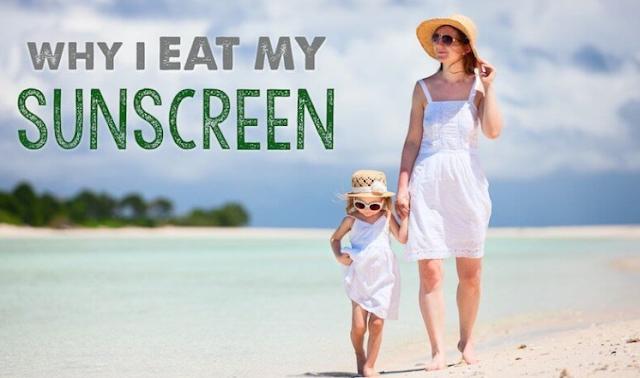 Mengapa Saya Makan Tabir Surya Saya untuk Melindungi Kulit Dari Dalam Keluar
