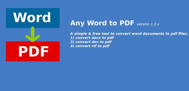 Cara Mengubah File Word ke File PDF