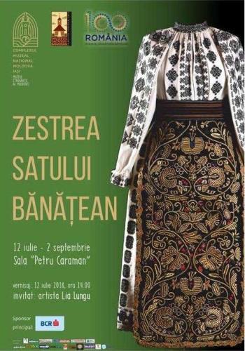 """Expozitia """"Zestrea Banateana"""" la Palatul Culturii Iasi"""
