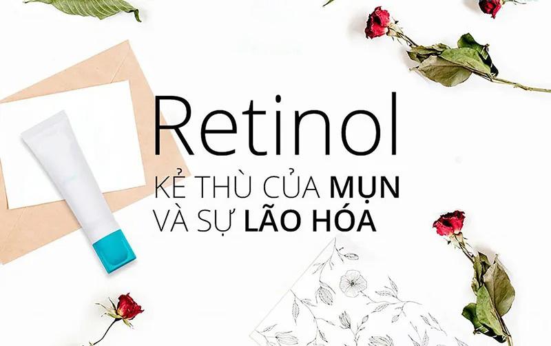 Retinol - Kẻ thù của mụn và sự lão hóa