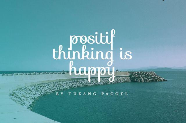 selalu bepikir positif