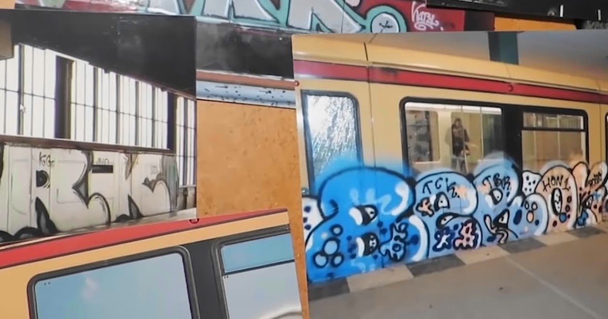 Toylessons Vol 1 Berliner Graffiti Action At Its Best Als Full