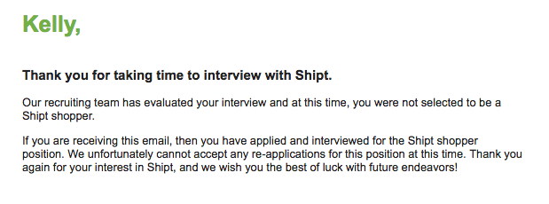 Shipt interview questions and answers
