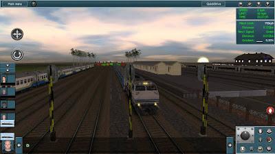 Oke pada kesempatan kali ini aku akan share sebuah games simulasi kereta yang berjulukan Tr Trainz Simulator Mod Indonesia Apk + Addons