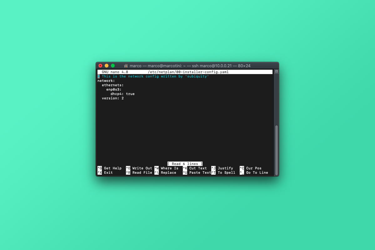 Come configurare un indirizzo IP statico su Ubuntu