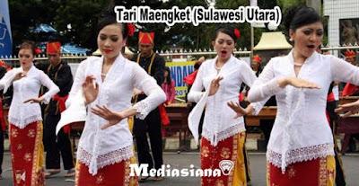 Tari Maengket (Sulawesi Utara)