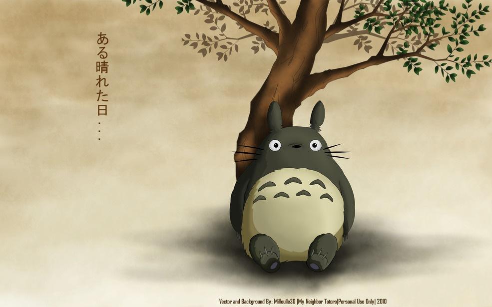 Cute Anime Girl Wallpaper 14 Cute Totoro Wallpapers Selina Wing Deaf Geek Blogger