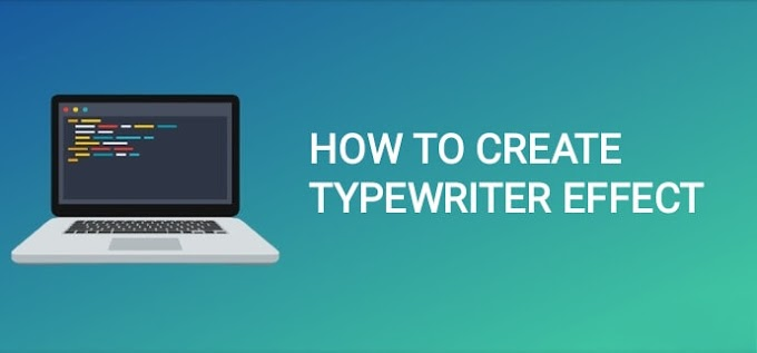 👨‍💻 | How To Create Typewriter Effect Using Pure CSS