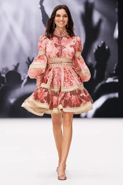 Zimmermann NYFW fashion show with Nicky Zimmermann