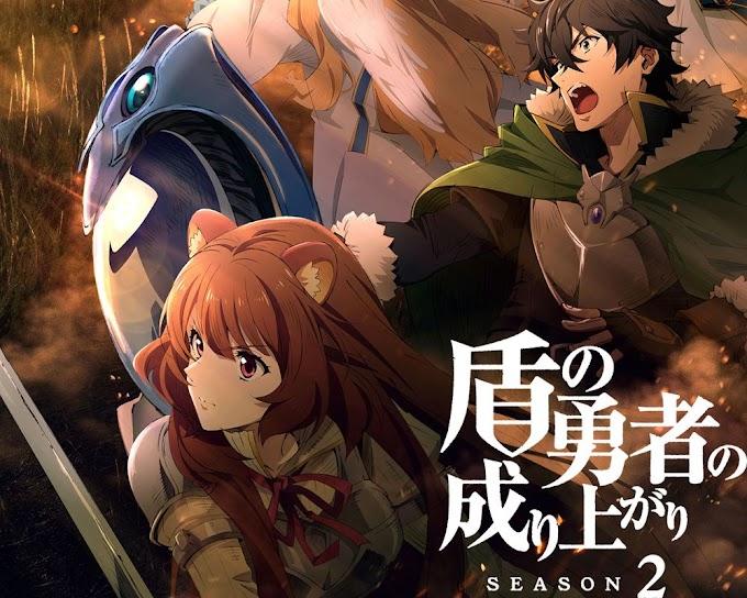 Segunda temporada do Anime Tate no Yuusha no Nariagari é adiada para abril de 2022