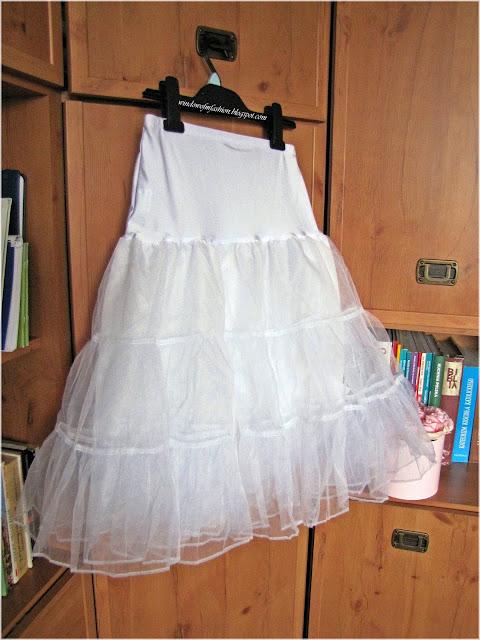 Biała petticoat Grace Karin