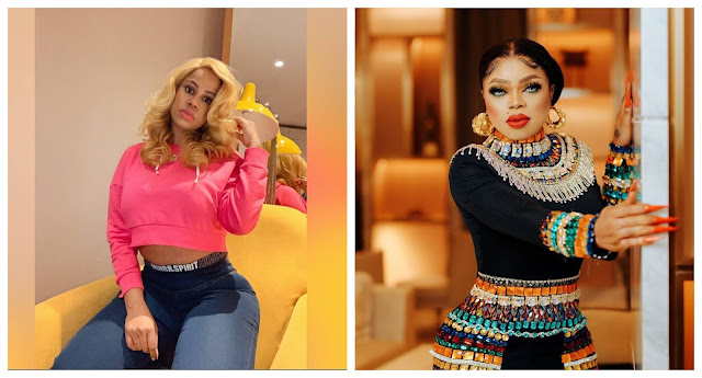 If not for Tonto you would still be a nobody, you will always be a man with your fake bum – Daffy Blanco slams Mr Bobrisky after he denied knowing her