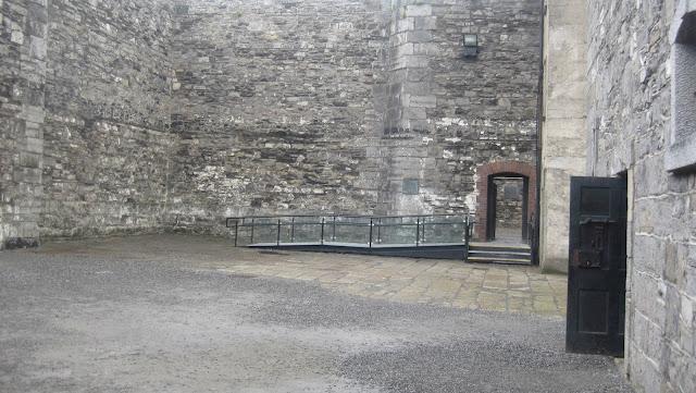Kilmainham Gaol  Court yard