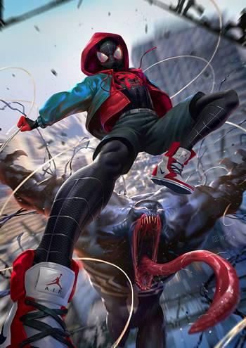 Miles Morales es Ultimate Spiderman